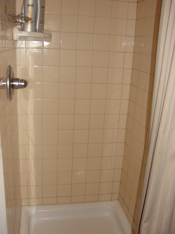 main floor shower/laundry